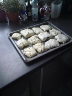 Gefüllte Pfannkuchen - Rezept