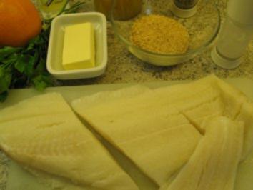 Fisch + Meeresfrüche: Heilbutt in Orangensauce - Rezept