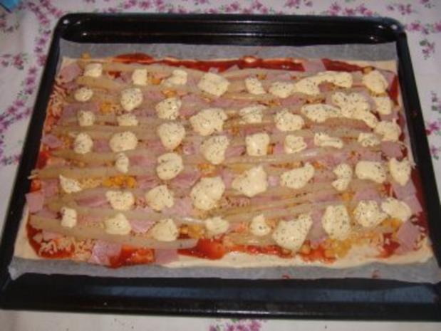 Sarah´s Pizza Oranje - Rezept - Bild Nr. 7