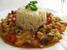 Pisto Manchego  -  Gemüsepfanne aus der Mancha - Rezept