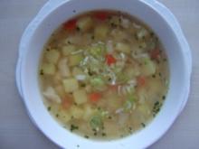 Chicken - Suppe - Rezept