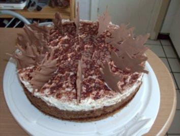 Schoko-Mousse-Torte - Rezept