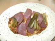 Gynie,s Bauern Omelett mit Mettwurst - Rezept
