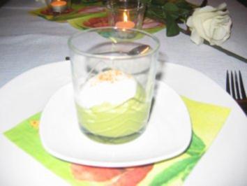 Grünes Wölkchen - Rezept