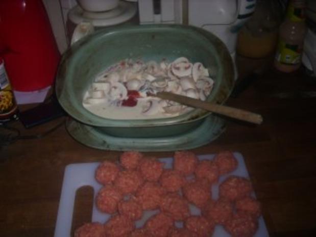 Hauptgericht / Kinderkochen: Zigeuner-Hackbällchen - Rezept - Bild Nr. 2