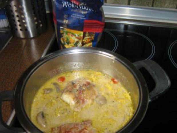 Wok-Nudelsuppe mit Hähnchenbrust - Rezept - Bild Nr. 2