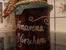 Amarenakirschen - Rezept