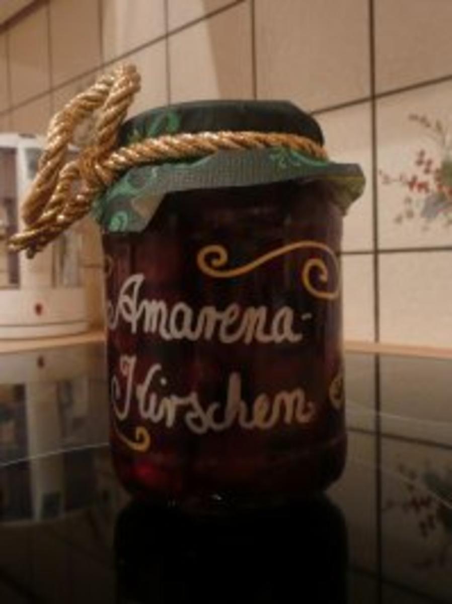 Bilder für Amarenakirschen sehr süss...aber seeeeehr lecker !!! - Rezept