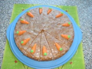 Rübli-Mandel-Torte - Rezept