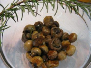 Champignons - kurz und bündig - Rezept