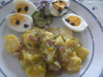 Kartoffelsalat  den alle mögen - Rezept