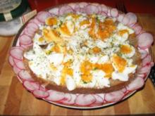 Ei auf Bauernbrot mit Radieschen - Rezept