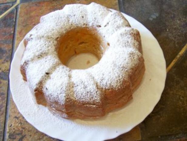 Backen: Möhren-Apfel-Kuchen - Rezept - Bild Nr. 5