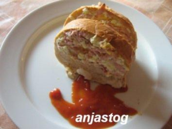 Pizza  Brot - Rezept