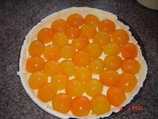 Kuchen + Torten : Schneller Aprikosentarte - Rezept - Bild Nr. 3