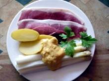 Königsgemüse mit Holsteiner Katenschinken und Sauce Dijonnaise - Rezept