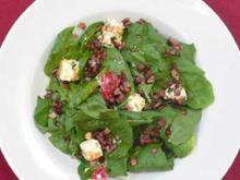 Spinatsalat mit Balsamicodressing - Rezept