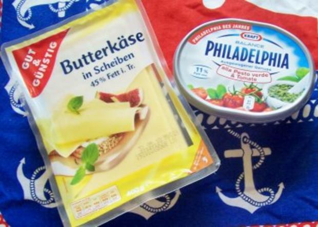 Snack: Schnelle Käseröllchen - Rezept - Bild Nr. 2