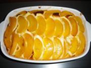 Quarkauflauf mit Pfirsichen - Rezept