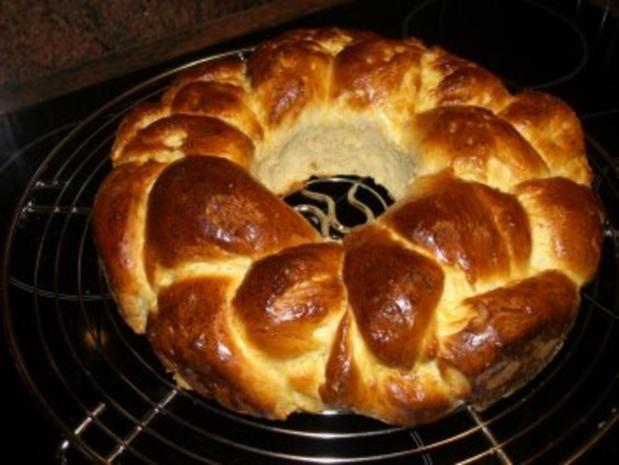 Hefe:   HEFEKRANZ zum Osterfrühstück - Rezept - Bild Nr. 8