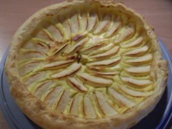 Apfel-Quark-Tarte - Rezept
