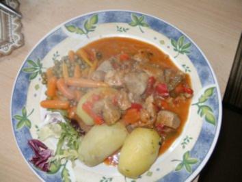 Gynie,s Schweinegoulasch - Rezept