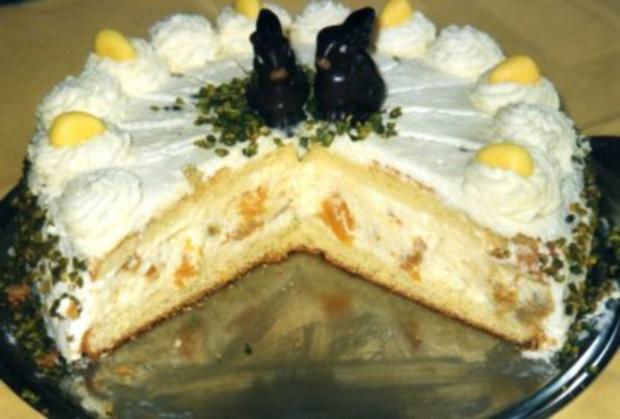 Oster-Mandarinen-Joghurt-Torte - Rezept - Bild Nr. 2