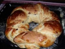 Oster-Hefekranz (Bilder sind hochgeladen) - Rezept