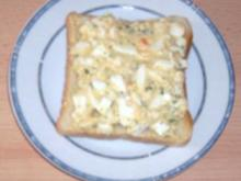 Eiersalat auf Toast - Rezept
