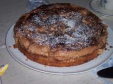 Rhabarber-,Stachelbeer- oder Johannisbeerkuchen mit Baiserhaube - Rezept