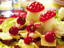 Tiere im Salatbeet - Rezept