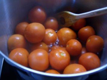 Geschmorte Tomaten - Rezept