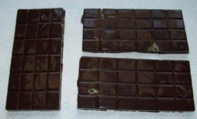 Schokolade mit Ingwer-Marzipan - Rezept