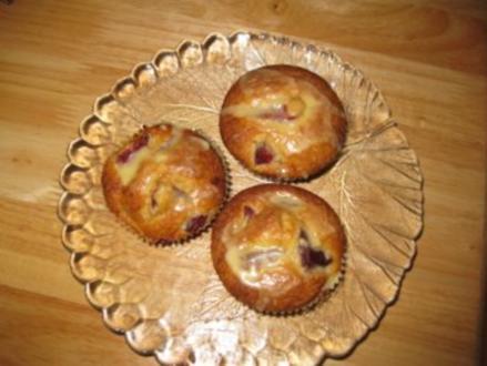 Schneckele's.... Zwetschgen-Eierlikör-Muffins  ♥ - Rezept