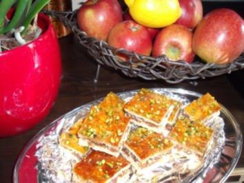 orientalischer Dattelkuchen - Rezept