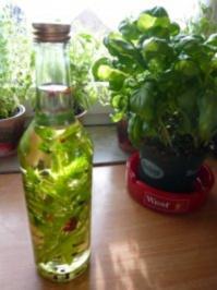 Italienisches Kräuteröl - Rezept