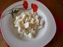 Kokos-Karotten-Ingwersuppe mit Feta - Rezept