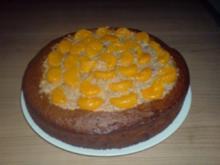 Mandarinen-Nuss-Kuchen - Rezept
