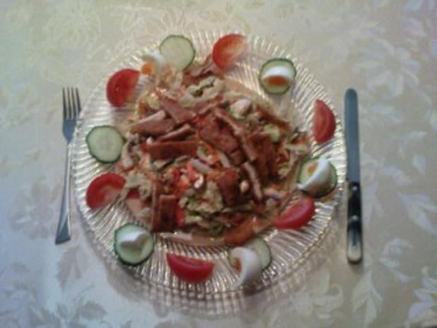 Sommerlicher Salat - Rezept