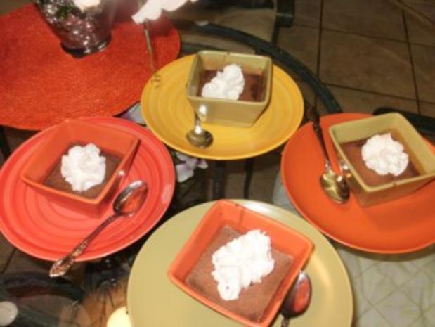 Schokolade: Dieser Dessert ist fuer ein Koenig - wo Schokolate liebt - die Sahne macht das einfach toll - Rezept