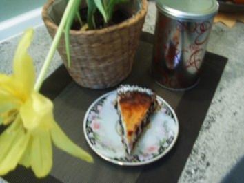 Mohn-Quarkkuchen mit Cranberry - Rezept