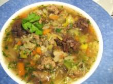 Spanische Gemüsesuppe 1 - Rezept