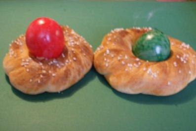 Osternester - Rezept