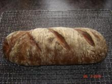 Brot + Brötchen : Basler Ruchbrot - Rezept