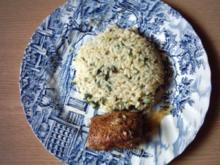 Butter-Kräuter-Reis aus der Türkei - Rezept