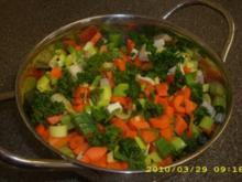 Kartoffelcremesuppe mit Würstchen - Rezept