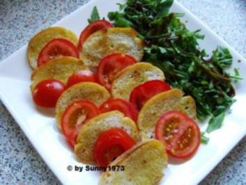 Tomaten-Brot-Salat - Rezept