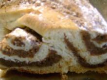 Kuchen: Mein gefüllter Hefezopf - Rezept