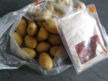 Heringsstipp selbstgemacht mit Speckpellkartoffeln              (FOTOS) - Rezept