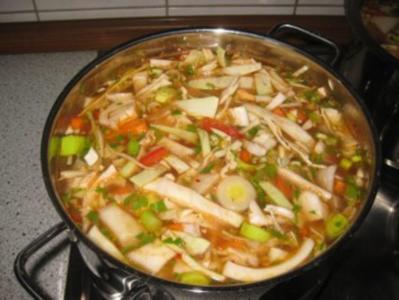 Kohlsuppe a la Chef - Rezept